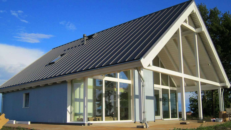 Loftwoning aan golfbaan 3690 schuurwoning bouwen - Bungalow ontwerp hout ...