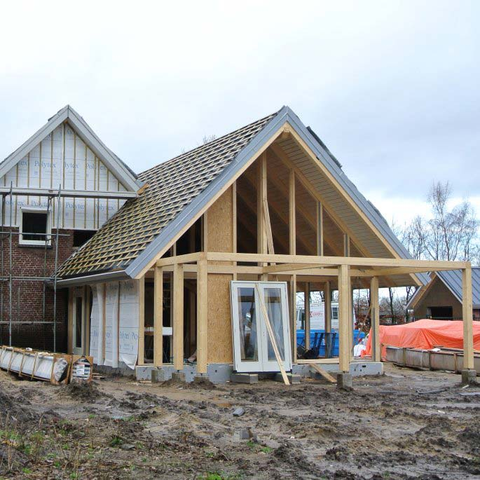 Loftwoning aanbouw – 3729   schuurwoning bouwen