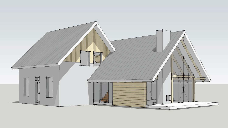 Moderne houten woning schuurwoning bouwen for Woning laten bouwen