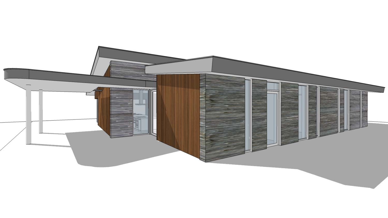 Luxe pensioen bungalow ks220 schuurwoning bouwen - Bungalow ontwerp hout ...