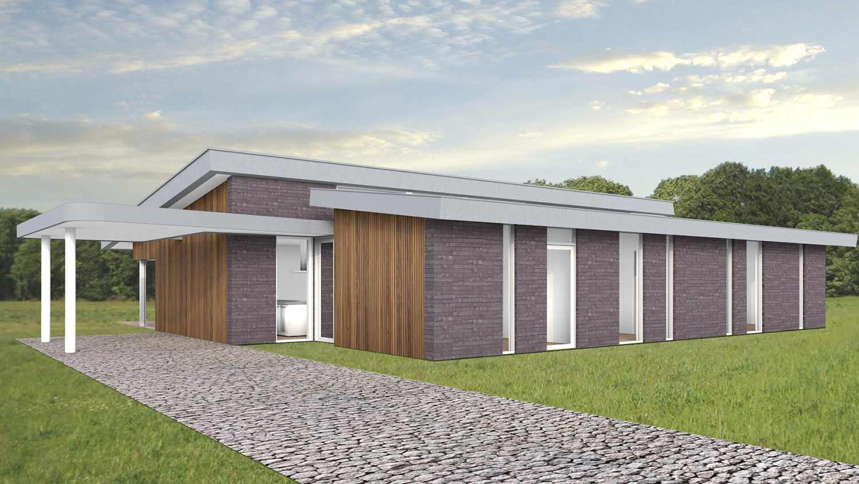 lessenaarsdak in het zicht k160 schuurwoning bouwen. Black Bedroom Furniture Sets. Home Design Ideas