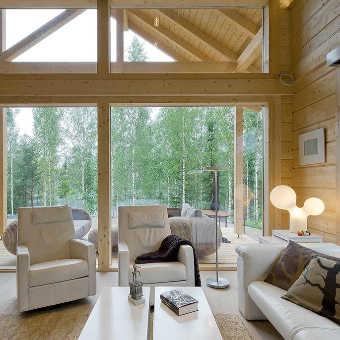 Loftwoning met vide k110 schuurwoning bouwen - Houten huis ...